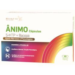 Ânimo 5-HTP + Bacopa   60...